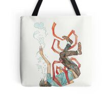 Burdened - sinking swimming ribbon  Tote Bag