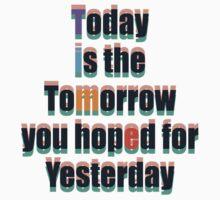 Today Tomorrow Yesterday 1 by Paul Fleetham