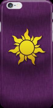 Tangled Kingdom Sun Emblem 1 by Jeffery Borchert