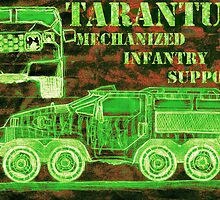 Tarantula - Mechanized Infantry Support by Cameron Bullen