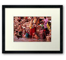 Dawn in India Framed Print
