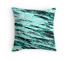 Ice granite Throw Pillow
