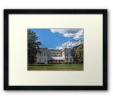 The Marble House, Newport Rhode Island Framed Print