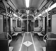 New York Subway Car by Tara Holland