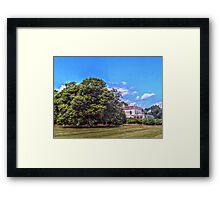 The Astor Beechwood Mansion Framed Print