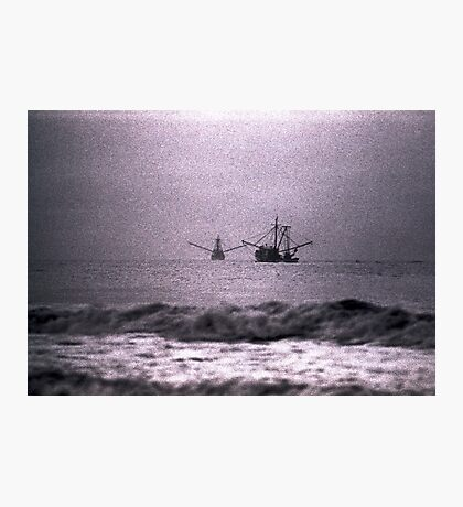 Shrimpboats  Photographic Print