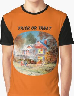 Halloween Trick Or Treat Graphic T-Shirt
