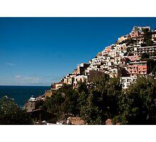 Positano Italy Seaside Town Photographic Print