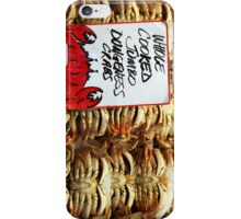 Jumbo Cooked Crabs iPhone Case/Skin