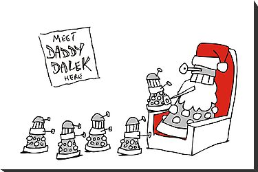 Daddy Dalek by Matt Mawson