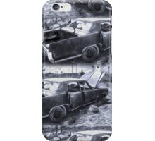 Broke Down in Barstow iPhone Case/Skin