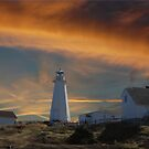 Sunset At Cape Spear Newfoundland Canada(best viewed larger) by NewfieKeith