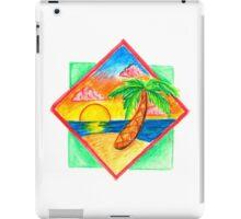 Miami Beach 80s Palm Tree iPad Case/Skin