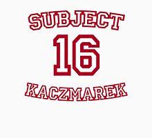 Subject Sixteen Men's Baseball ¾ T-Shirt