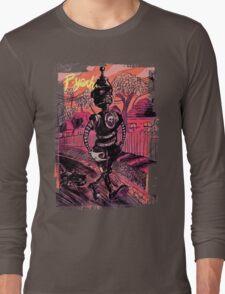 P-Yeah Robot Cat Walker  Long Sleeve T-Shirt