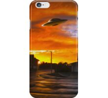 Suburban UFO iPhone Case/Skin