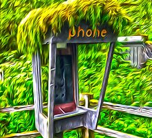 Rain Forest Phone by Gregory Dyer