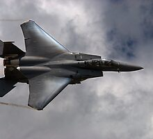 F-15E Strike Eagle on the Edge by Jim Haley