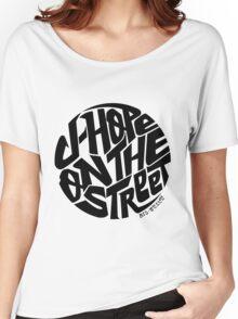 J-Hope - BTS Member Logo Series (Black) Women's Relaxed Fit T-Shirt