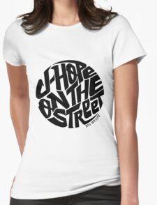 J-Hope - BTS Member Logo Series (Black) Womens Fitted T-Shirt