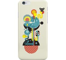 Blue monster. iPhone Case/Skin