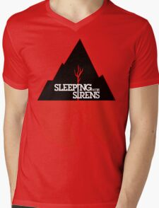 SLEEPING WITH SIRENS Tour  Mens V-Neck T-Shirt