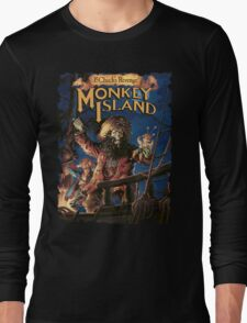 Monkey Island 2 Long Sleeve T-Shirt