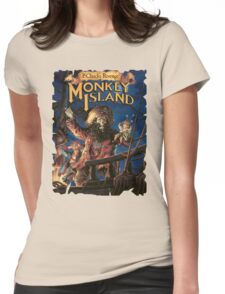 Monkey Island 2 Womens Fitted T-Shirt
