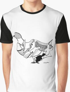 Duck (Puzzle Print) Graphic T-Shirt