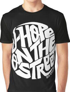 J-Hope - BTS Member Logo Series (White) Graphic T-Shirt
