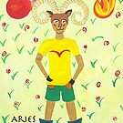 Aries * 21 March - 20 April * element fire * planet Mars&amp;Pluto * fearless, passionate, generous * by Krokokaro