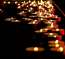 Candles for the Madonna by Art-Motiva