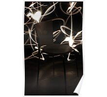 Chair - White  Poster