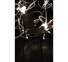 Chair - White  Photographic Print