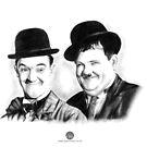 Laurel & Hardy by Jody Moore
