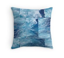 Caribbean Blue... Throw Pillow