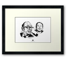 Morecambe & Wise Framed Print