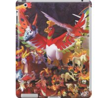 POKeMON - Fire Version iPad Case/Skin