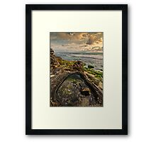 Rock Pool View Framed Print