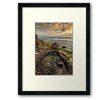 Rock Pool View Framed Print