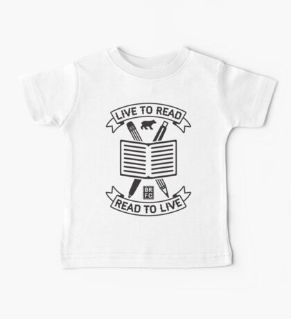 Live to Read Baby Tee
