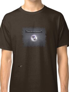 What's with all the Questions? - Siri IOS 6 T Shirt Classic T-Shirt