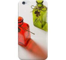 The Red and Green Bottles 2 iPhone Case/Skin