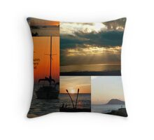 A Creative Blend Throw Pillow