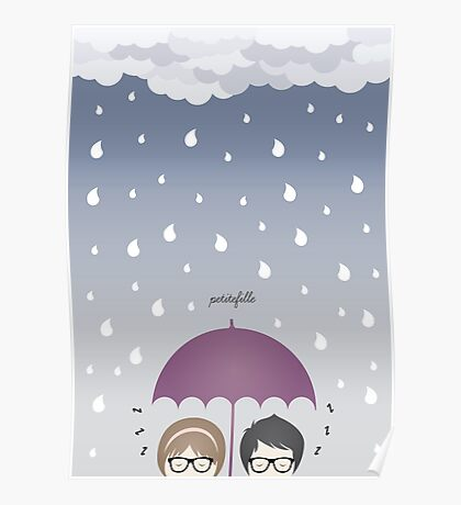 Oh, rainy day! Poster