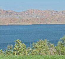 Lake Argyle,  Ord River, Kununurra, Western Australia Sticker