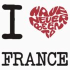 I Love France  by FC Designs