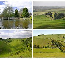 Peak District Landscapes 01-Plain  by Rod Johnson
