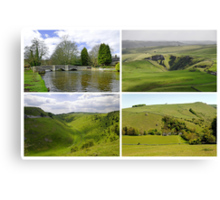Peak District Landscapes 01-Plain  Canvas Print