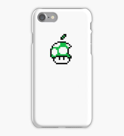 1up Apple Logo iPhone Case/Skin